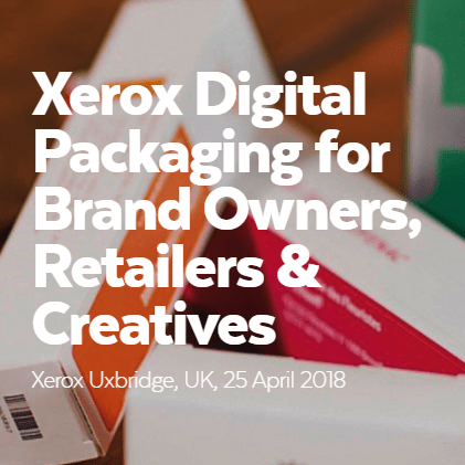 Esmark Finch Take Part In The Xerox Digital Packaging Event