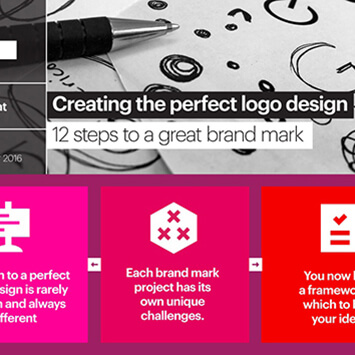 Creating the perfect logo Design, Tips from Art Box in Esmark Finch
