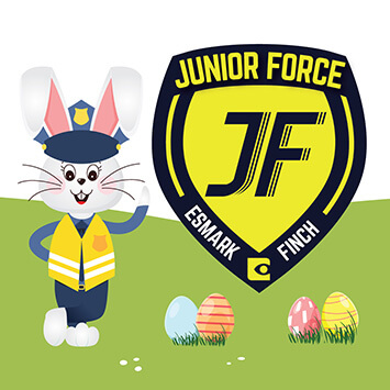 decals for vans Junior Force Easter Campaing Find the Golden Egg