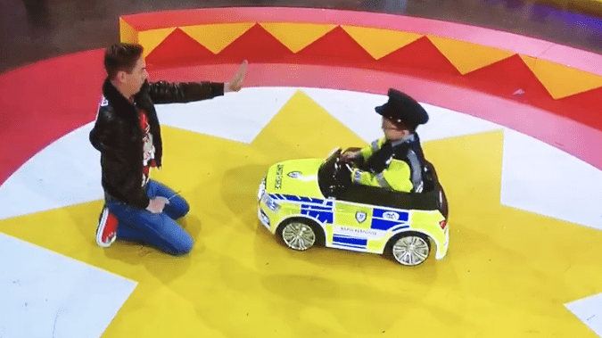ryan tubridy and the junior force car