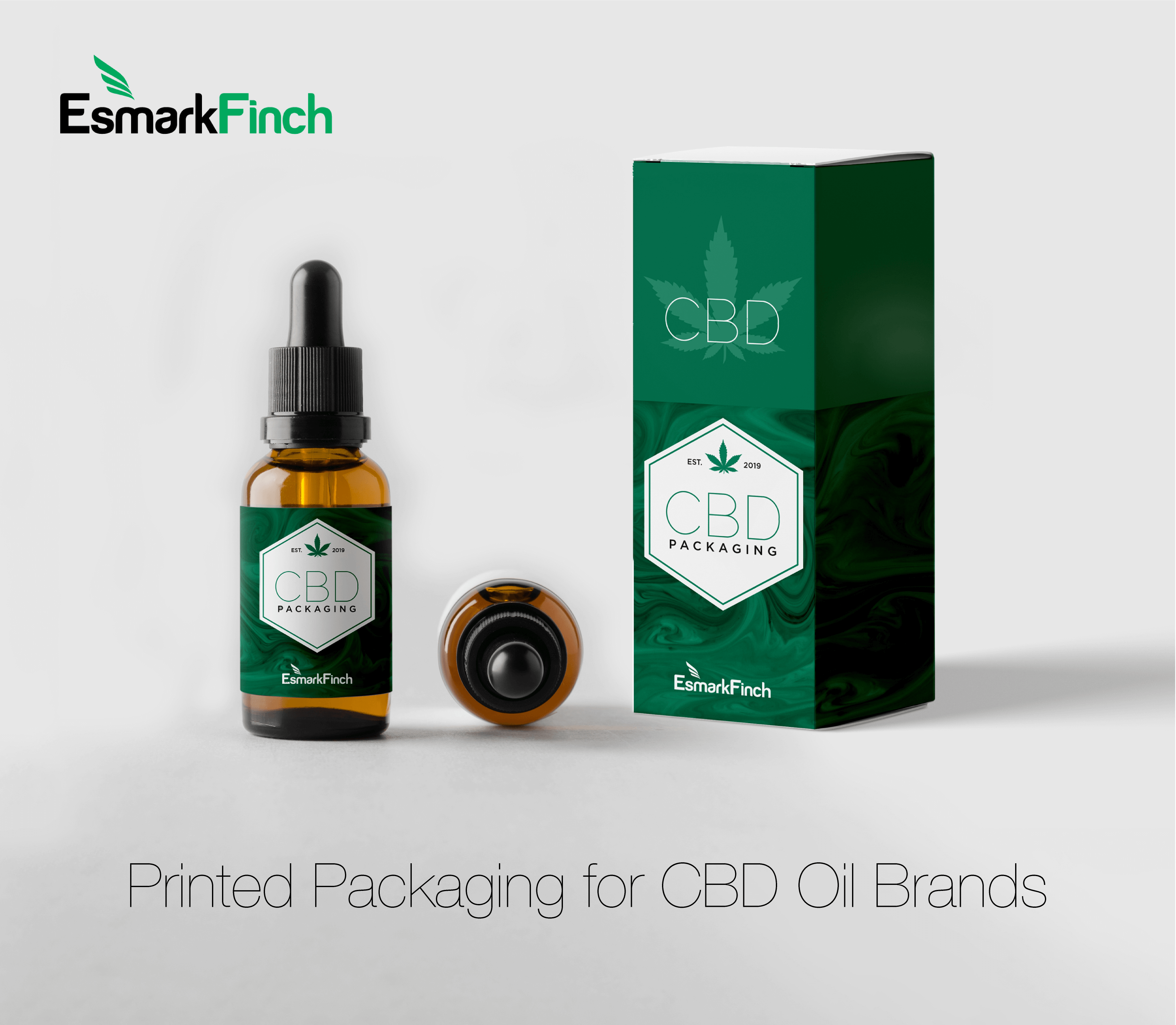 Esmark Finch specialise in printed packaging for CBD Brands