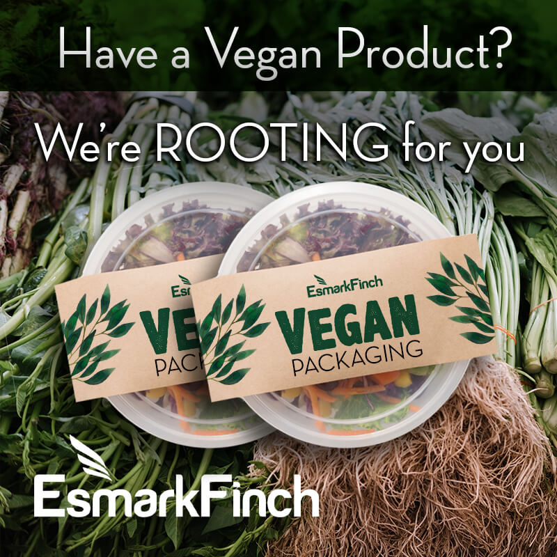 Esmark Finch supporting vegan brands